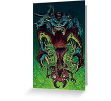 Hyper beast Greeting Card