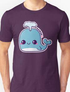 Kawaii Blue Whale T-Shirt