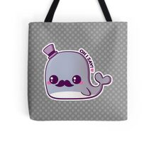 Kawaii Fancy Whale Tote Bag