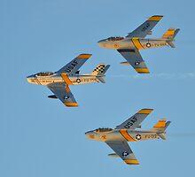 F-86 Sabrejets by Eleu Tabares
