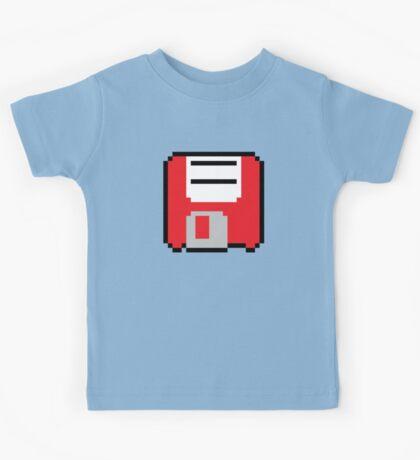 Floppy Disk - Red Kids Tee