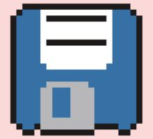 Floppy Disk - Blue Kids Tee