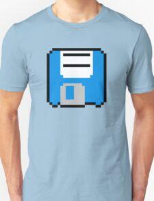 Floppy Disk - Blue Unisex T-Shirt