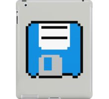 Floppy Disk - Blue iPad Case/Skin