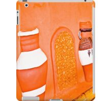 Human and cold rock. iPad Case/Skin