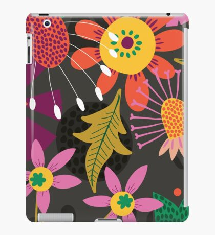 Jungle Flowers iPad Case/Skin