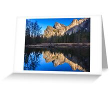 Cathedral Rocks Reflections Greeting Card