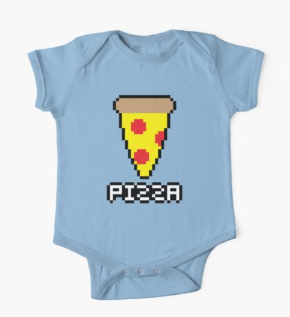 8-Bit Pizza One Piece - Short Sleeve