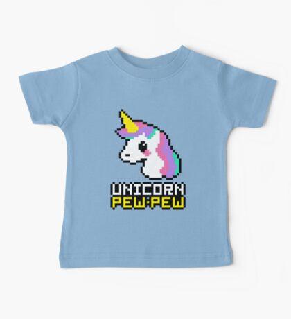 Unicorn Pew-Pew! Baby Tee