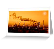 Industrial Background - Project Moon Greeting Card