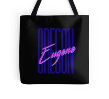 Retro 80s Eugene, Oregon Tote Bag