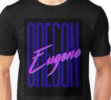 Retro 80s Eugene, Oregon Unisex T-Shirt