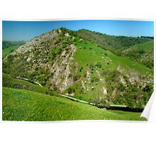 Bunster Hill from Thorpe Cloud  Poster