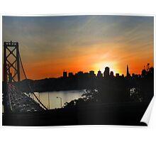 Sunset San Francisco Poster