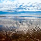 Cloud reflections at low tide by Renee Hubbard Fine Art Photography