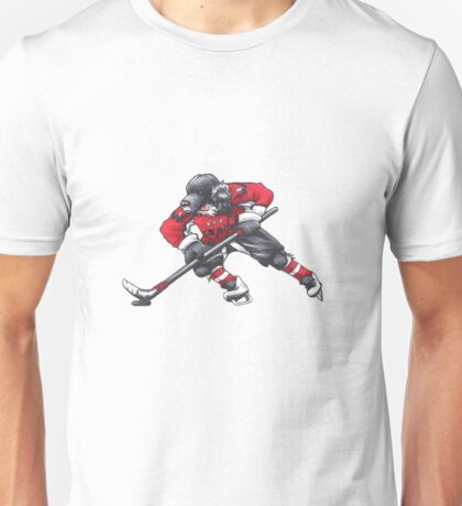 Hockey Spaniel Unisex T-Shirt