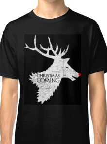 Christmas is Coming - Game of Thrones Xmas Gift Classic T-Shirt
