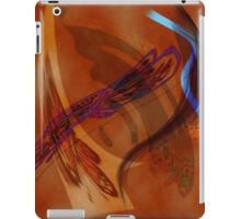 red butterflies iPad Case/Skin