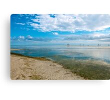 Peaceful anchorage at Tangalooma  Canvas Print