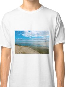 Peaceful anchorage at Tangalooma  Classic T-Shirt