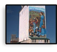 Berthoud Grain Elevator Canvas Print