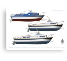 Dell Quay Ranger 25 & 27s Canvas Print