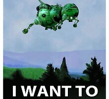 I Want To Believe (Starbug) by anfa