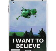 I Want To Believe (Starbug) iPad Case/Skin