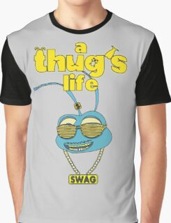 A Thug's Life Graphic T-Shirt