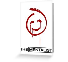 RED JOHN ~ The Mentalist Greeting Card