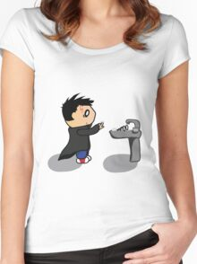 The Boy Who Lived Women's Fitted Scoop T-Shirt
