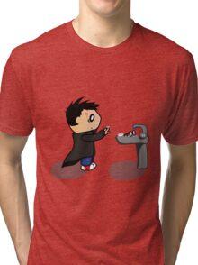 The Boy Who Lived Tri-blend T-Shirt