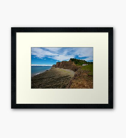 The Glory of Cape D'or Framed Print