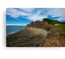 The Glory of Cape D'or Canvas Print