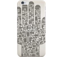Hand the house iPhone Case/Skin