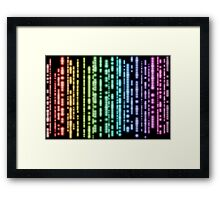 Royal hue-ness Framed Print