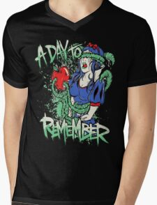 A Day To Remember Snow White Mens V-Neck T-Shirt