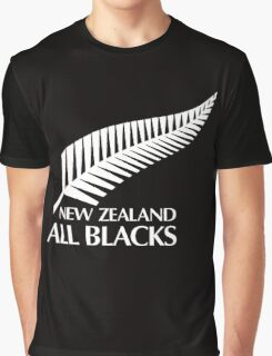 New Zealand All Black Graphic T-Shirt