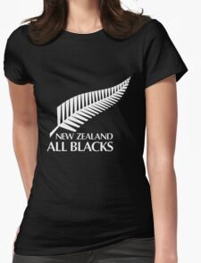 New Zealand All Black Womens Fitted T-Shirt