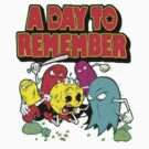 A Day To Remember Pac-Man by Claw Inc