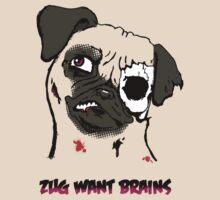 Zug want brains by twisteddoodles
