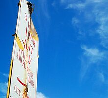 Beach Sign One ( 08 10 12 ) by Robert Phillips
