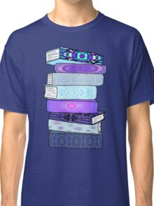 Stack of Blue Books Classic T-Shirt
