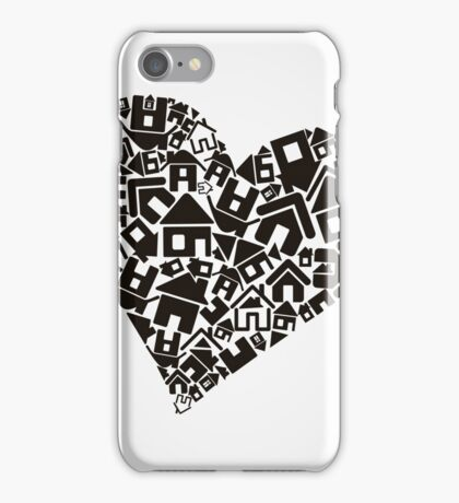 Heart the house iPhone Case/Skin
