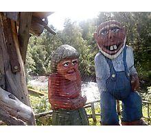 Norway trolls Photographic Print