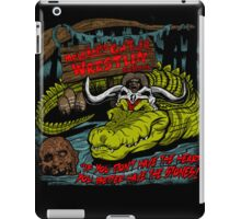 Mola Ram's Gator Wrestlin' School iPad Case/Skin
