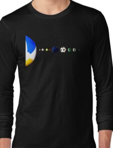 Sports Galaxy Long Sleeve T-Shirt