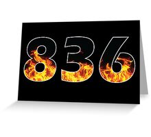 836 Greeting Card