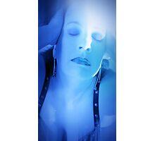 Provocative Blue Photographic Print