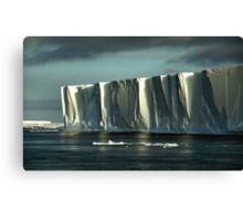 Tabular Iceberg Antarctica Canvas Print